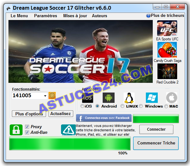 dream league soccer 2017 Glitcher